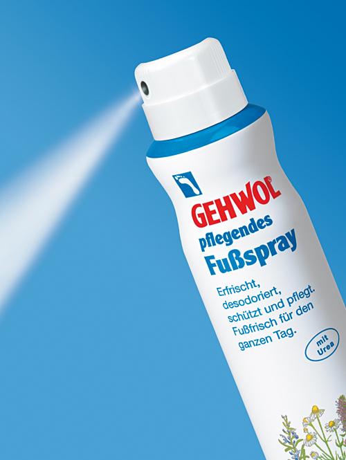 GEHWOL pflegendes Fußspray, desinfizierend, mit Fußpilzschutz, 150 ml
