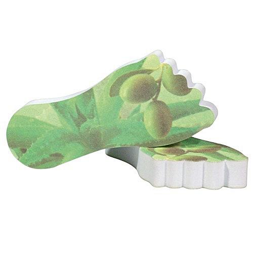 Hornhaut Füsschen Aloe Vera, Olive, Camillen 60, Hornhautfeile Körnung 120/180, Wellness Foot Care