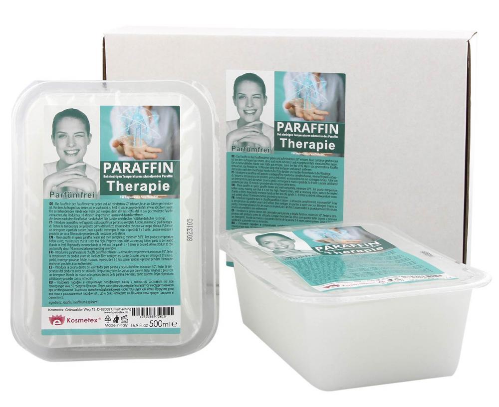 Kosmetex Paraffinbad Therapie für Gelenk Paraffin-Bäder, Parfümfrei, Paraffin mit niedrigeren Schmelzpunkt