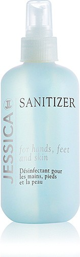 JESSICA Sanitizer, Desinfektion - Hygiene bei der Nagelpflege, 251 ml