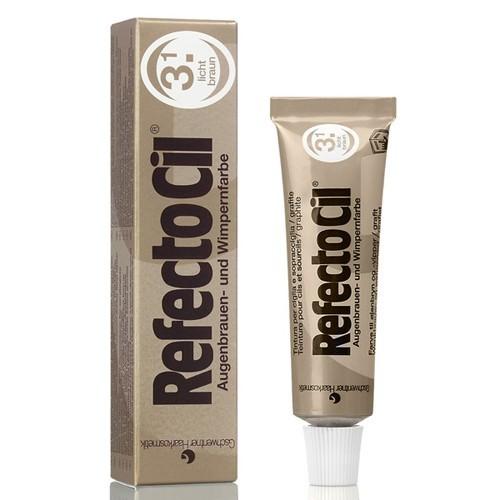 RefectoCil 3.1 Wimpernfarbe, Augenbrauenfarbe Lichtbraun, Wasserfeste Intensivfärbung, 15ml