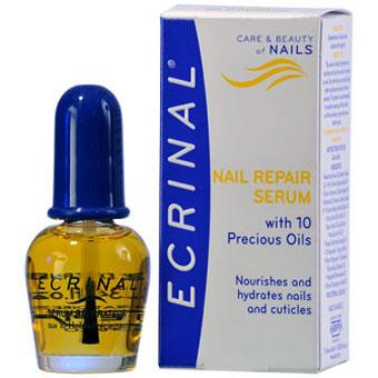 Ecrinal Nail Repair Serum, für trockene spröde Nägel und Nagelhaut, künstliche Nägel, 10ml