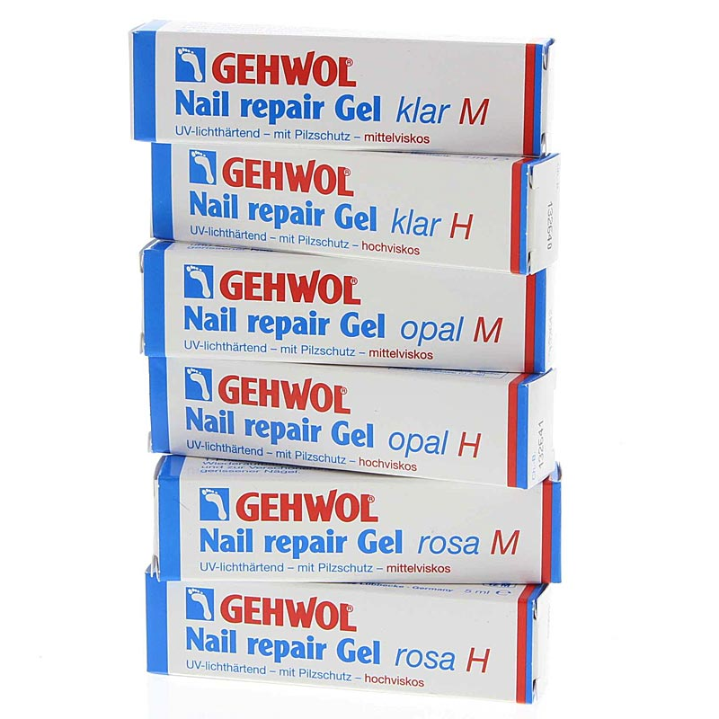 GEHWOL Nail repair Gel mit Pilzschutz Nagelgel,