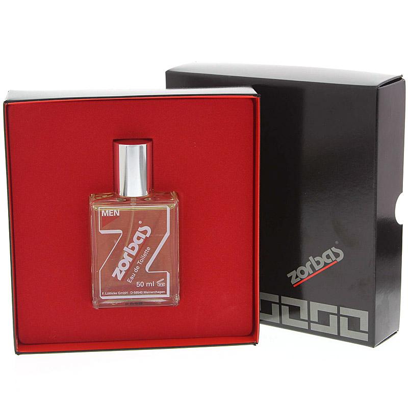 Zorbas Eau de Toilette, Geschenkset klein für Männer, Männerparfüm, Männerkosmetik, 50ml