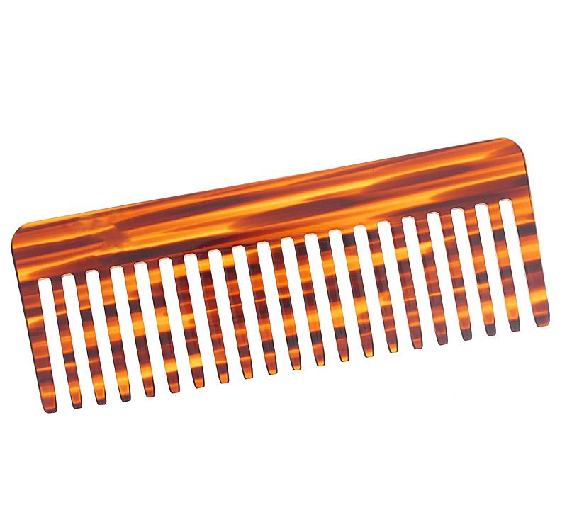 Afro-Kamm, für voluminöses Haar. Großer 16cm, Grober Kamm für dichtes, lockiges, nasses und langes Haar.