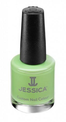 Jessica Nagellack 730 Lime Cooler, Grün, Limette, 14,8ml