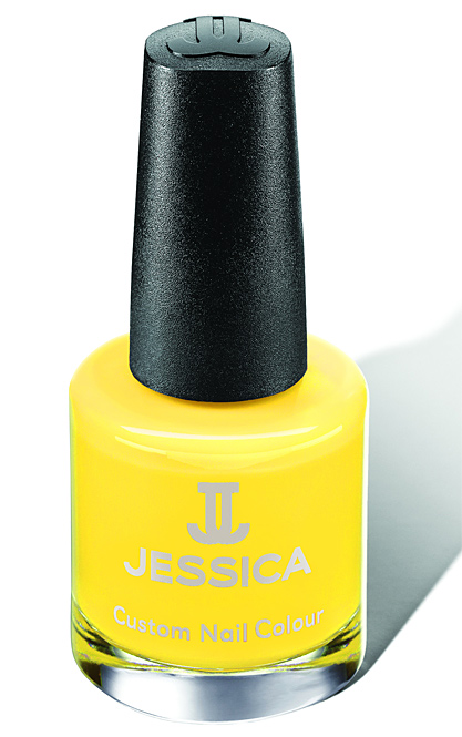 Jessica Nagellack 788, Farbe Gelb, Yellow Lightning leuchtend gelb, 14,8ml