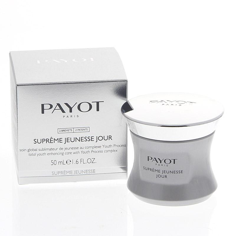 Payot Supréme Jeunesse Jour, hochwirksame Anti-Aging-Pflege, glättet Falten und Linien, verleiht strahlenden Teint, 50 ml