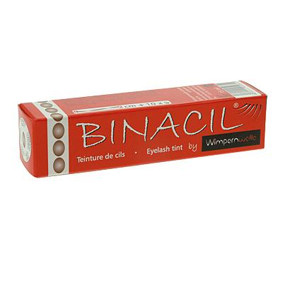 Binacil Wimpernfarbe Lichtbraun, Hellbraun Augenbrauenfarbe, Wimpernwelle, 15g