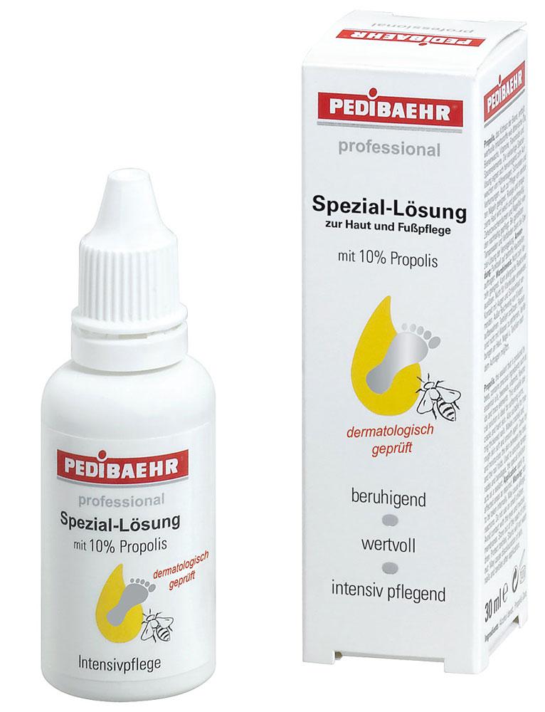 Fuß Speziallösung mit Propolis für Hühnerauge Warzenverhornungen, PediBaehr, 30ml