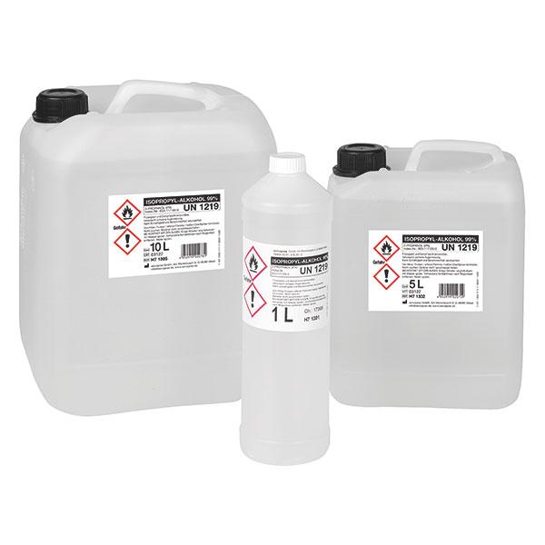 Alkohol f. medizinische Zwecke, Isopropanol 99% Isopropylalkohol, IPA 99 Prozent zur medizinischen Desinfektion und Reinigung.