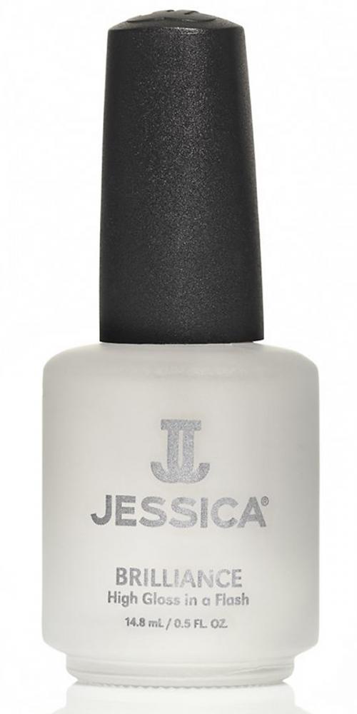 Brilliance Jessica Überlack glänzend Topcoat ein Glanzüberlack - schnelltrocknend, 14,8ml
