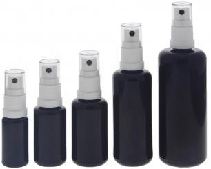 blauer glas flakon blauglasflasche mit zerst uber kosmetex spr hflasche. Black Bedroom Furniture Sets. Home Design Ideas