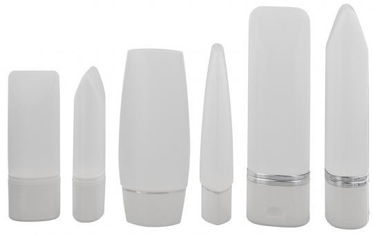 Kosmetex leere Tube für Flüssigkeiten, Cremes, Shampoo, Duschgel, Plastik ideal für Reise, 30ml