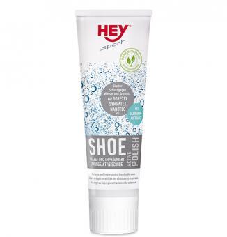 HEY sport Shoe ACTIVE Polish pflegt und imprägniert atmungsaktive Schuhe aus Leder, Velour, GORETEX, Sympatex, Nano-T Klar