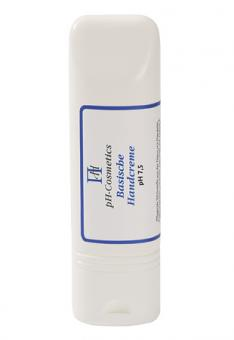 Basische Handcreme pH 7,5, Creme für die trockenen Hände, Basencreme, ph-Cosmetics, 100 ml