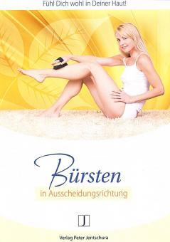 Infoheft: Jentschura Bürsten in Ausscheidungsrichtung , A5, 18 Seiten