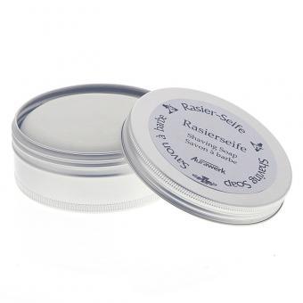 Aurawerk Rasierseife 100g Seife für die Rasur in Alu-Dose