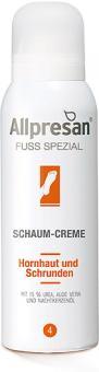 Allpresan Fuß Spezial Nr 4 Schaum-Creme, 15% Urea Aufbaupflege bei Hornhaut und Schrunden, analgetische Wirkung