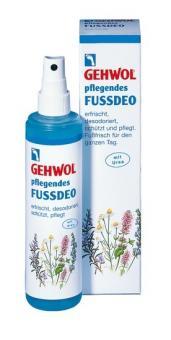 GEHWOL Pflegendes Fußdeo, Pumpzerstäuber desinfizierend, mit Fußpilzschutz, 150 ml