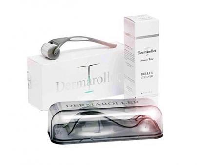 Dermaroller - Needling, 0,2 Mikronadeln, HomeCare Set mit Roller Cleaner