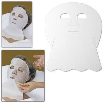 Vliesmaske, Anwendung mit Basensalz, basische Vlies-Masken für Gesicht, Hals und Dekolletee