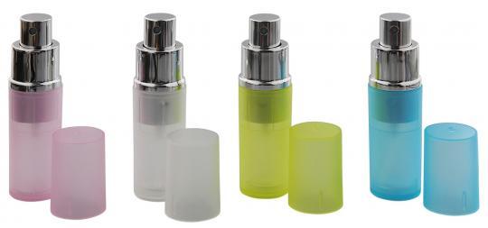 Zerstäuber, Kosmetex Parfümzerstäuber, Taschenzerstäuber, Pump Zerstäuber für Unterwegs, 8ml