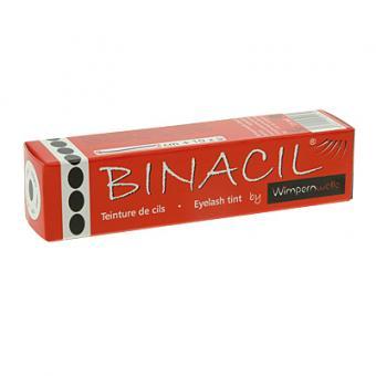 Binacil Wimpernfarbe Schwarz Augenbrauenfarbe, Wimpernwelle, 15g