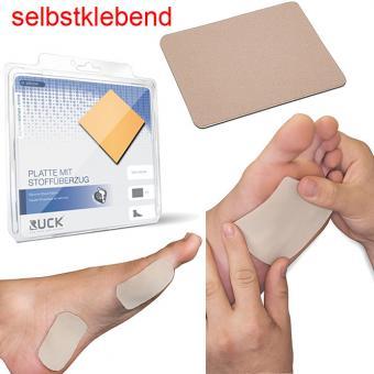 RUCK silc Platte mit Stoffüberzug, groß, Druckschutzpflaster selbstklebende Druckschutz Platte, 10x15 cm