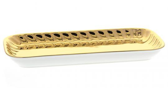 kammschale aurum porzellan gold. Black Bedroom Furniture Sets. Home Design Ideas