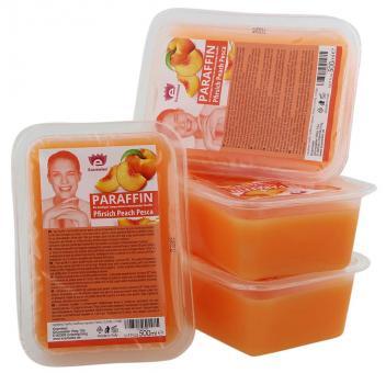 Kosmetex Paraffinbad, Paraffin-wachs mit niedrigeren Schmelzpunkt, Pfirsich Duft