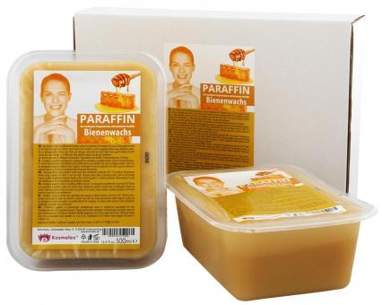 Kosmetex Paraffin-wachs Bienenwachs, Paraffinbad Wachs mit niedrigeren Schmelzpunkt