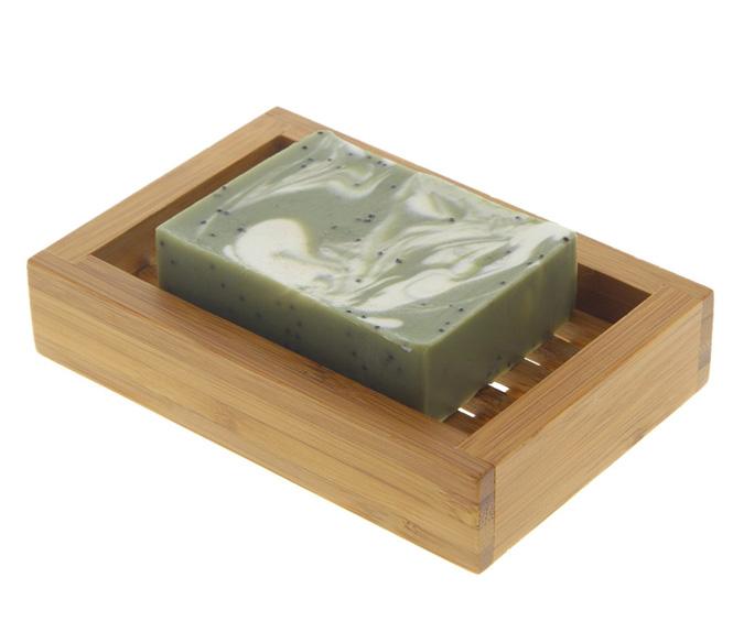 Wärme Und Natürlichkeit: Seifenschale Kosmetex Bambus Im Tiki