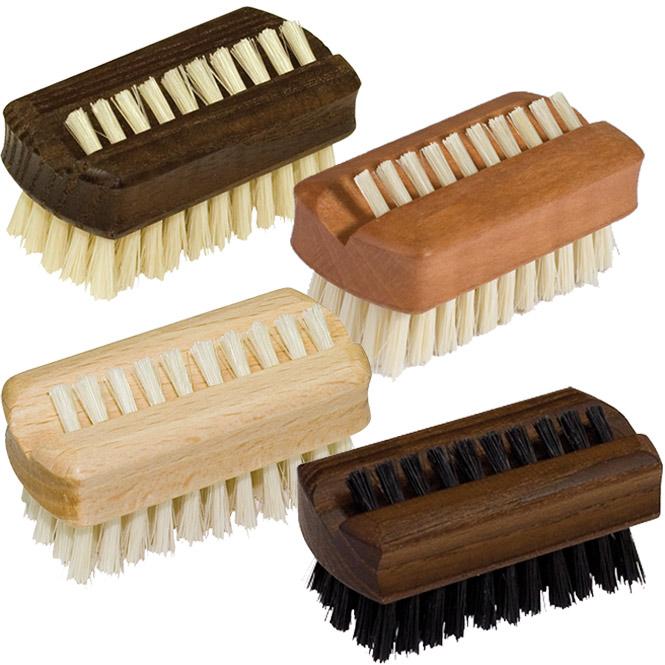 kleine nagelb rste kosmetex handb rste aus holz mit naturborsten. Black Bedroom Furniture Sets. Home Design Ideas