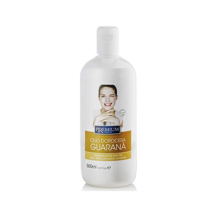 Kosmetex Premium Guarana After Wax Öl, beruhigt und pflegt, entfernt Wachsreste nach dem Wachsen - Waxing, 500ml