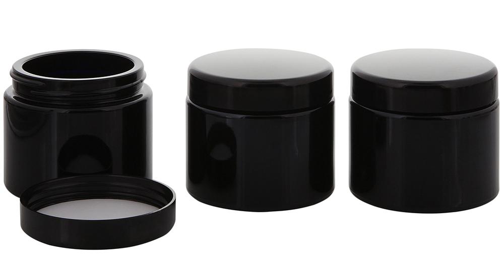 rund 1/× 1000 ml Mironglas Wasserflasche 1 Liter Miron wiederverschlie/ßbar Kosmetex Violett-Glas Lichtschutz-Flasche