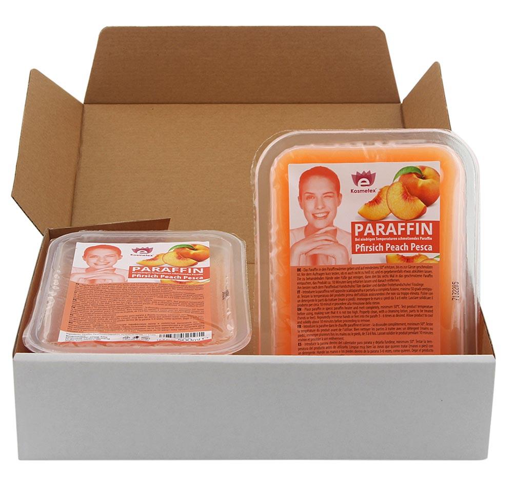 Kosmetex Paraffinwachs Pfirsich, Paraffin-bad mit niedrigeren Schmelzpunkt