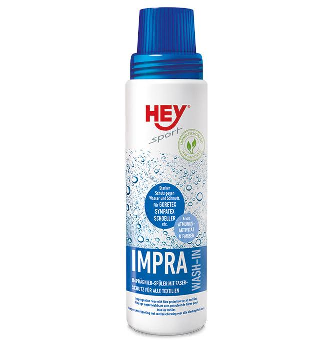 HEY sport IMPRA Wash-In Flüssigimprägnierer Imprägnierwaschmittel für Textilien wie GORETEX, SYMPATEX .