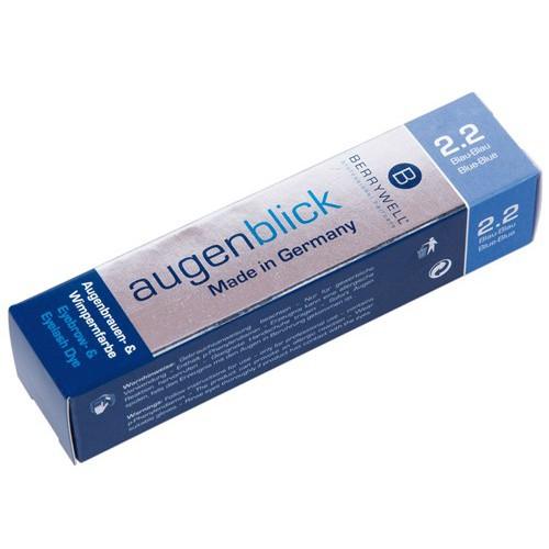 Augenblick, Blau Blau 2. 2, Augenbrauenfarbe Wimpernfarbe, Berrywell, 15ml F20220