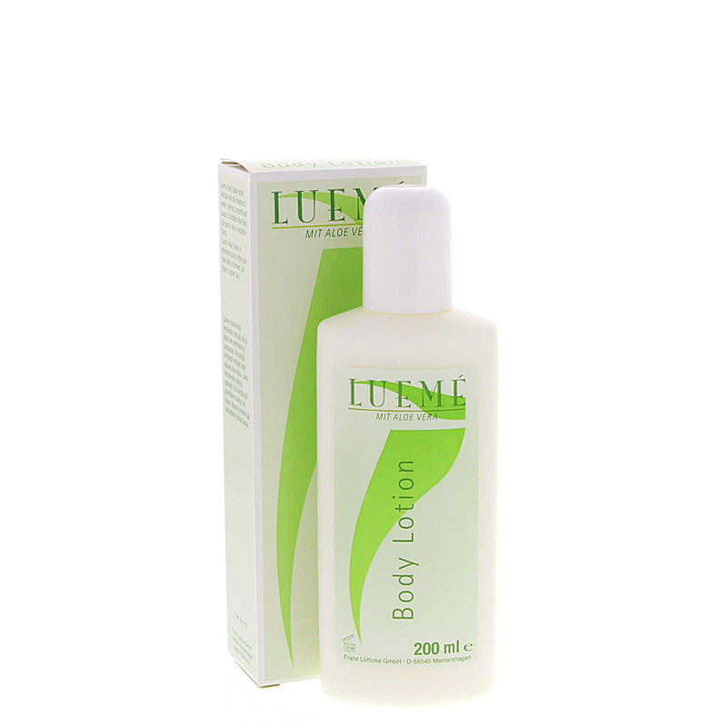 Lueme Body Lotion mit Aloe Vera, kühlende Körperlotion,
