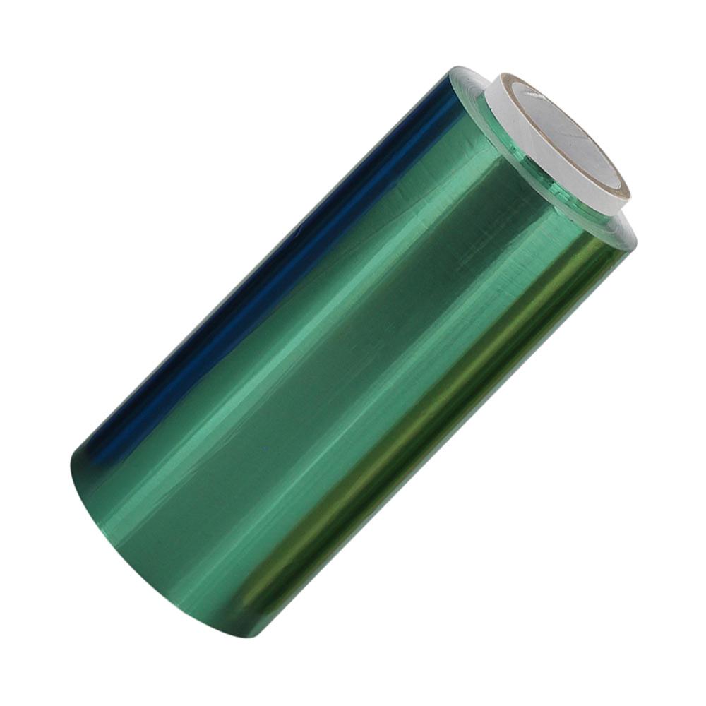 Grüne Friseur Premium Alufolie 12 cm x 250 meter, Strähnenfolie Starke Kosmetex Alu Folie mit 15 Micron