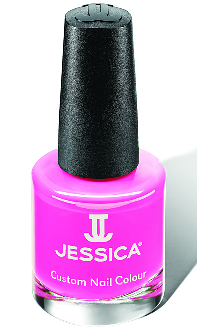 Jessica Nagellack 790, Farbe Rosa, Pink Shockwaves altrosa, 14,8ml