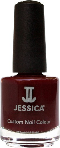 Jessica Nagellack 376 Eccentric, Rot, Dunkelweinrot, 14,8 ml J-UPC376