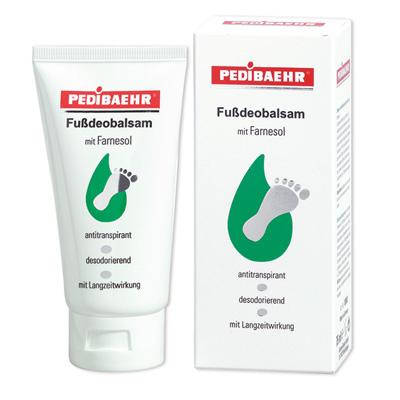 Fußdeobalsam PediBaehr bei Fußschweiß und Fußgeruch,