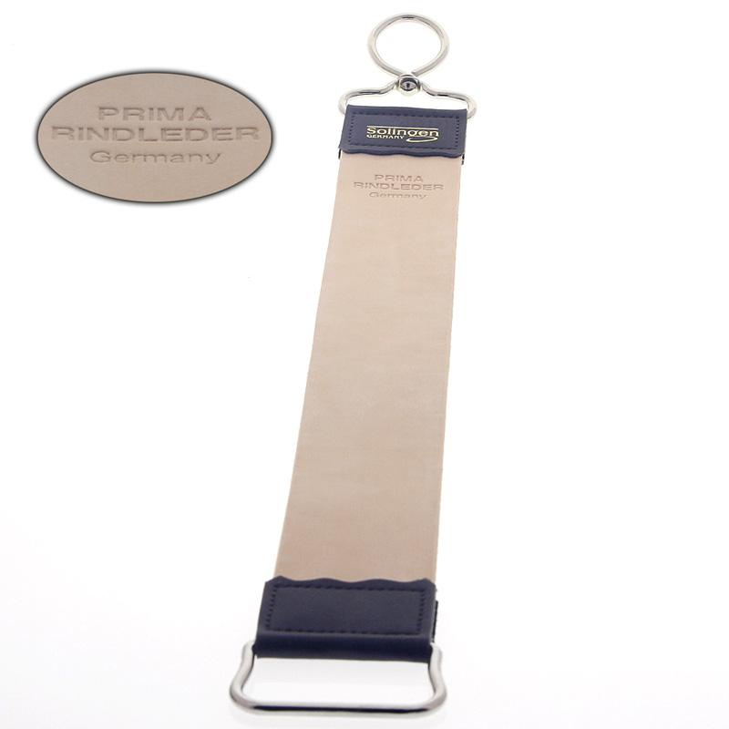 Aurawerk Streichriemen aus Leder Rindsleder Abziehriemen zum Schärfen von Rasiermessern 1500