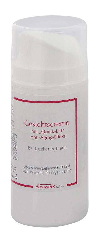Aurawerk Stammzellen Quick-Lift Gesichtscreme, Anti-Aging Effekt durch Apfelstammzellenextrakten 1032430043
