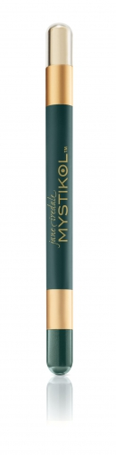 Mystikol, Malachite, Powder Eyeliner moosgrün, beige, Puderlidstrich, jane iredale