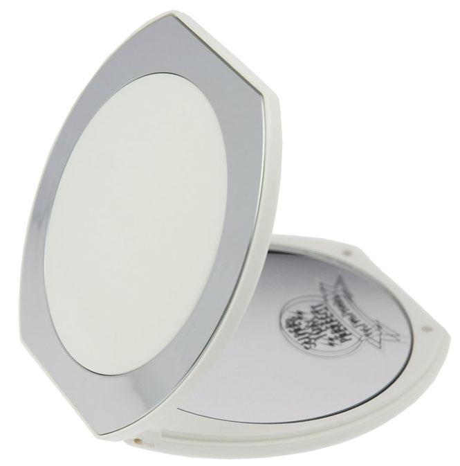 taschen spiegel weiss chrom mit 10. Black Bedroom Furniture Sets. Home Design Ideas