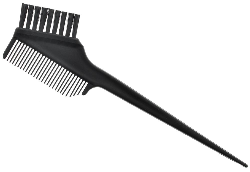 Großer Haarfärbekamm Nr. 1, Kosmetex Haarfärbepinsel, Kamm Pinsel für Farbe oder Blondierung, Strähnchen