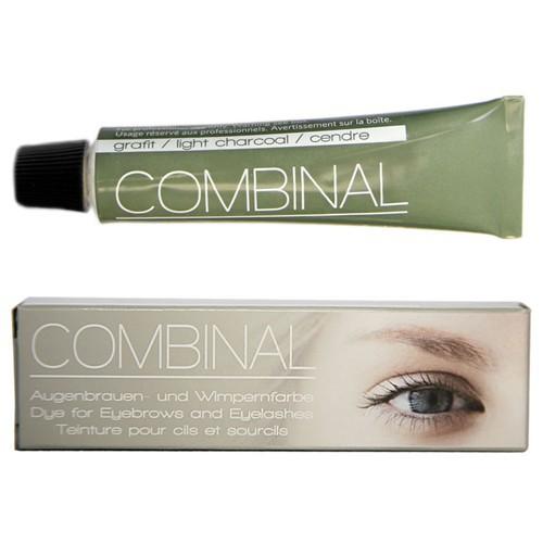 Combinal Wimpernfarbe Grafit, Augenbrauenfarbe, wasserfest, 15ml